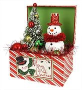 traditional christmas tabletop decor - Red And Green Christmas Decorations