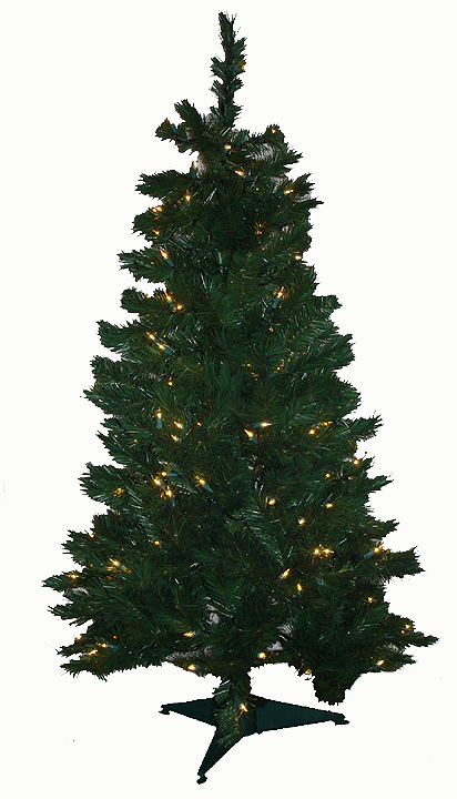 lighted pine branch christmas garland 9 feet long by 10 inches wide easy to shape flame resistant artificial electric end to end connection ss437215 - 9 Foot Christmas Tree