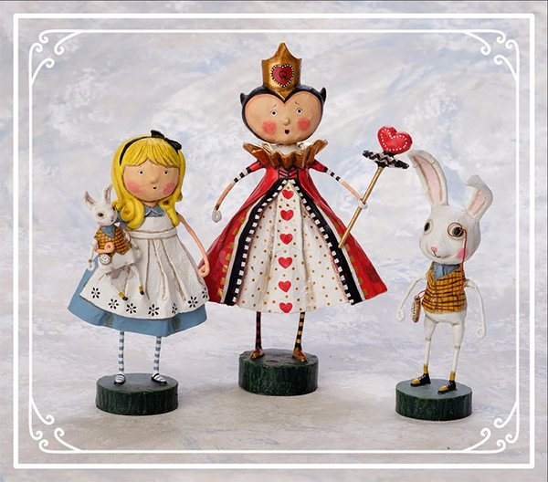 Lori Mitchell Alice In Wonderland Figures