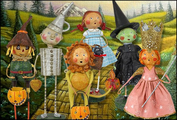 Lori Mitchell Wizard of Oz Folk Art