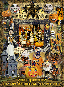 national magazine ad for halloween