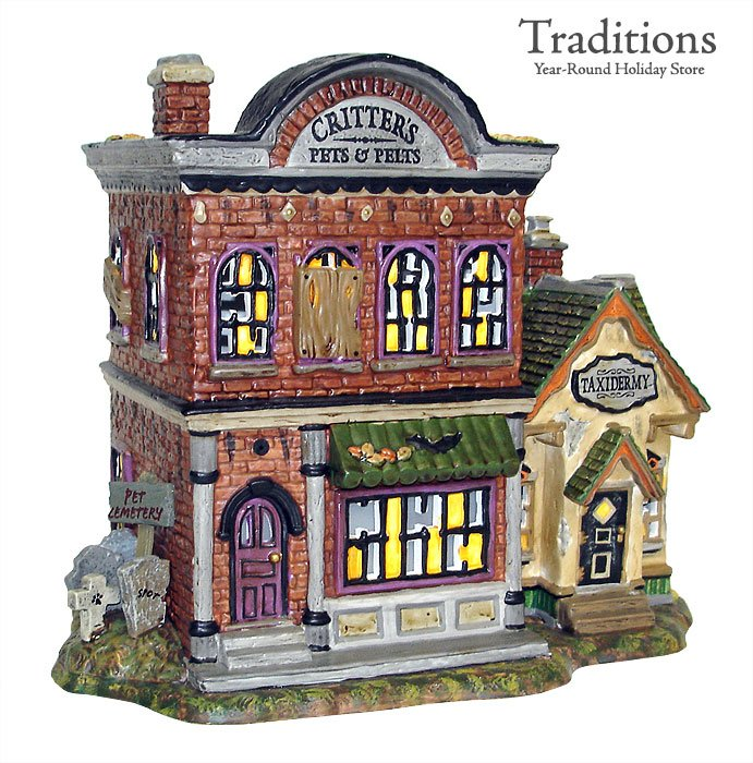 critters pets pelts house lit wpurple led lights ceramic 9x6x75 808986 9599 add to cart in stock retired