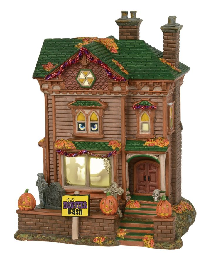 monster mash party house animated with sound resin electric 1025x7x8 6000659 16099