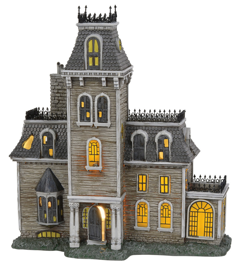 department 56 addams family halloween collector series