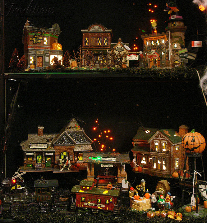 department 56 anniversary halloween collector series