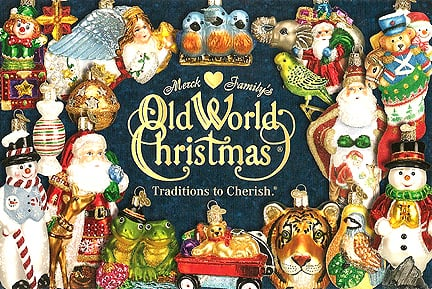 Old World Christmas Glass Ornaments beb9a3d79