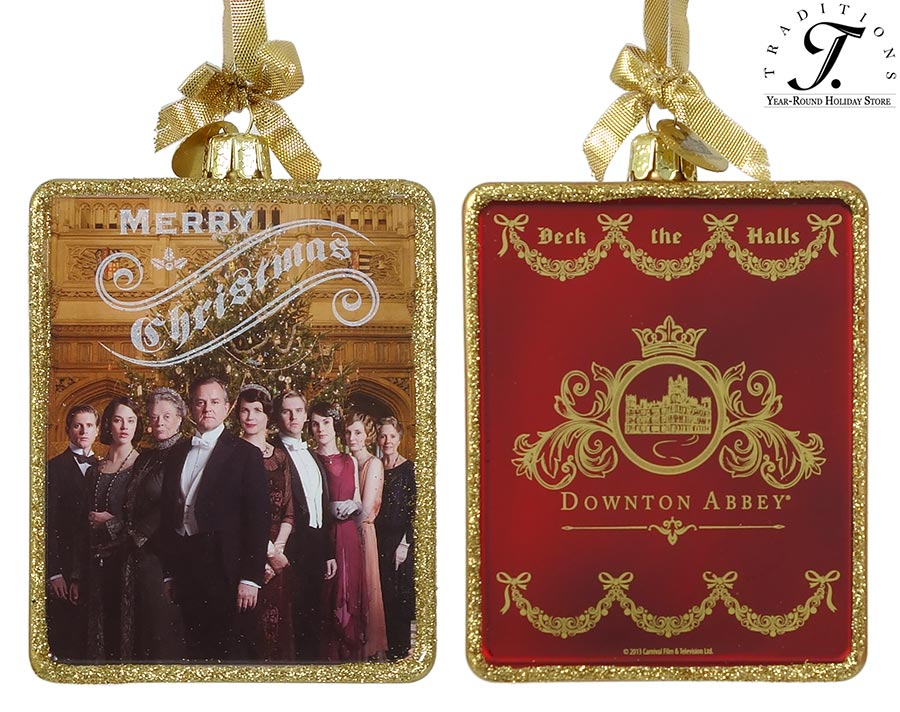 Downton Abbey Ornaments