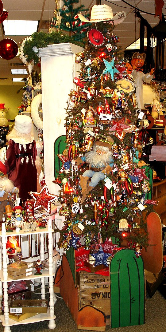 Cowboy And Western Theme Ornaments And Figures