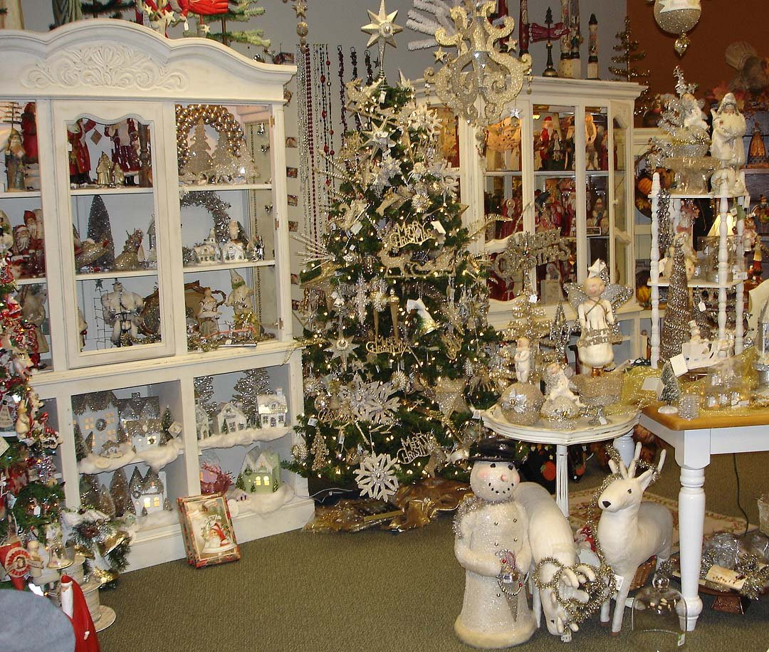 Vintage Store Christmas Decorations