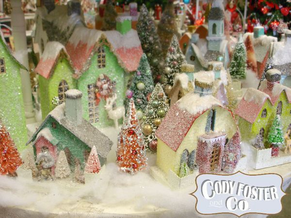 Cody Foster Christmas Village Houses