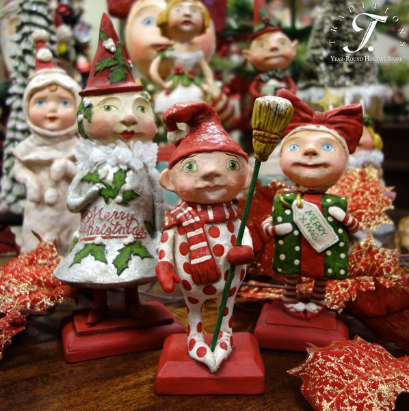 Debra Schoch Christmas Figures for Bethany Lowe