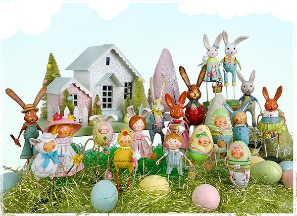 Lori Mitchell Easter Figures