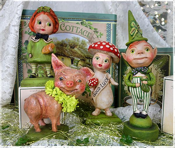 Debra Schoch St. Patrick's Day Decor