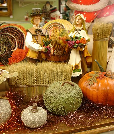 Thanksgiving Pumpkins & Gourds
