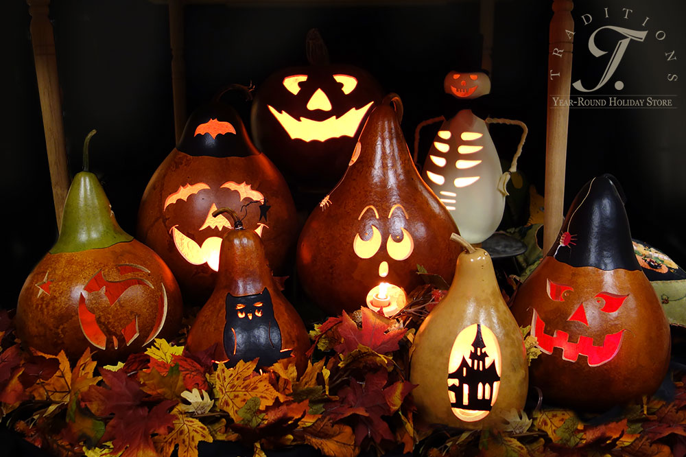 Meadowbrooke Halloween Gourds Traditions