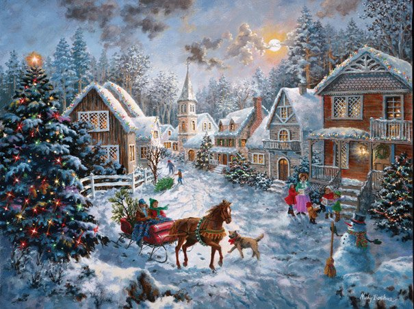 American Made Christmas Jigsaw Puzzles