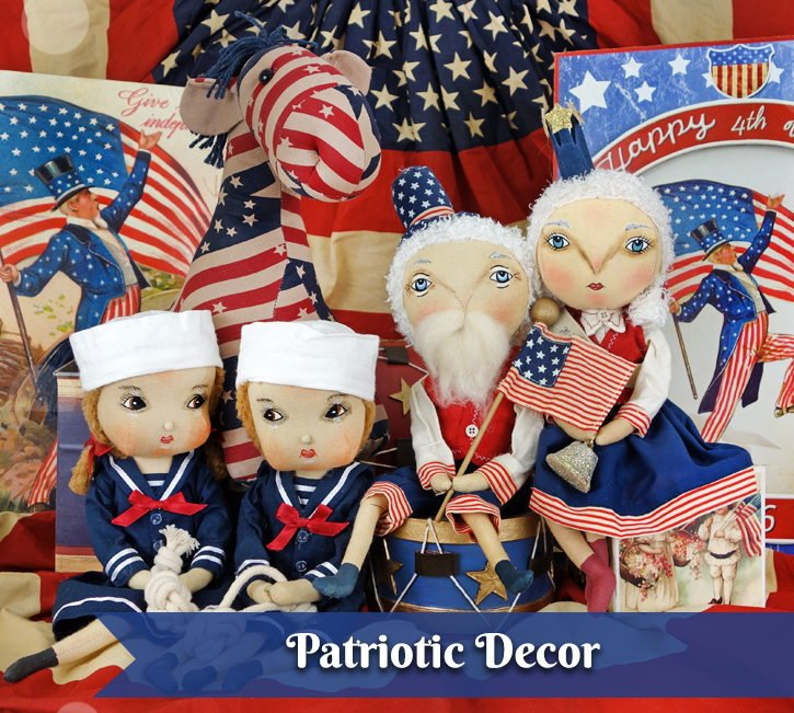 ca8ccc292a9ca Patriotic Decor   Ornaments