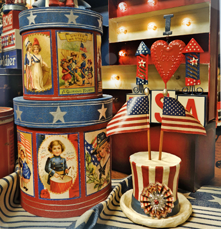 Patriotic Tabletop Decor