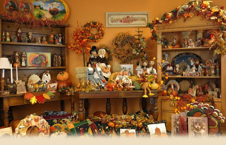 thanksgiving decorations ornaments for your home buffet porch and door - Thanksgiving Decor