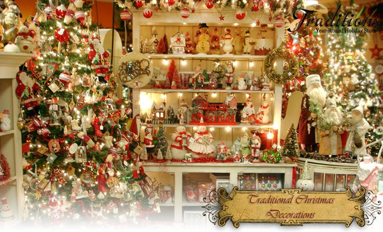 Christmas decorating on pinterest christmas mantels for Traditional christmas decorating ideas