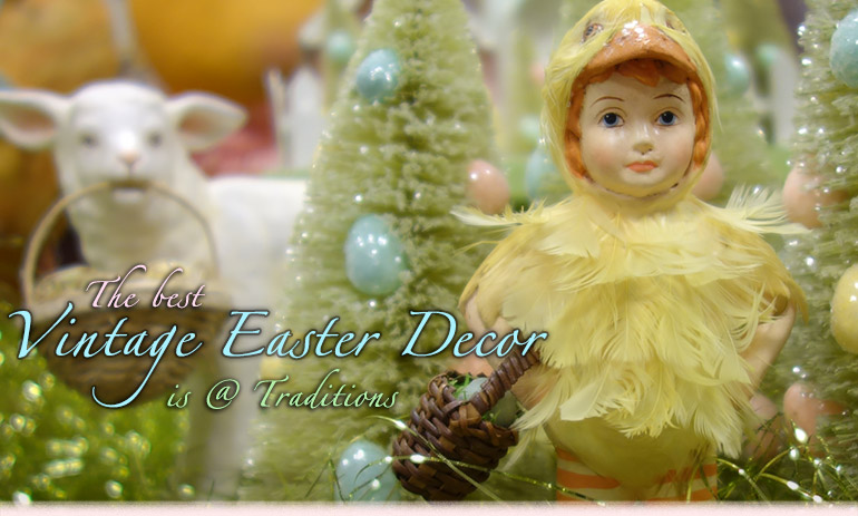 Foil Easter Decorations Vintage Easter Decorations