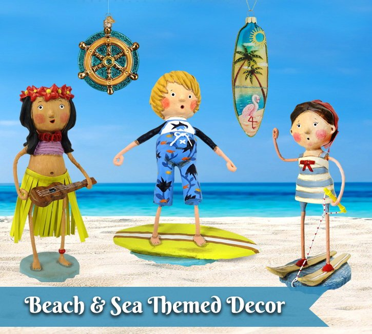 Beach & Sea Theme Decor & Ornaments