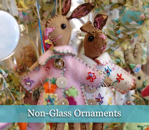 Non-Glass Easter Ornaments