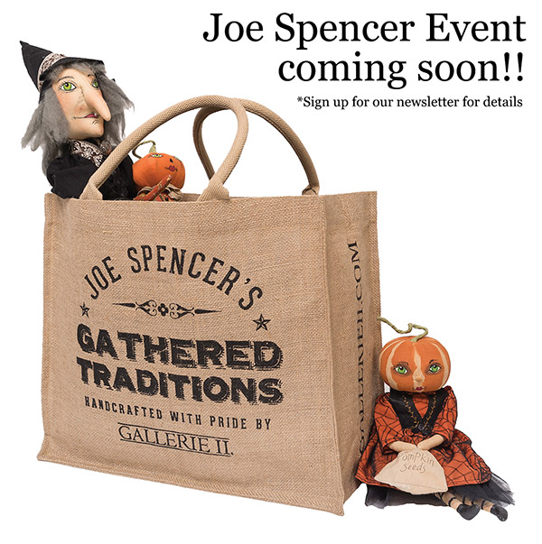 Joe Spencer Event coming soon!