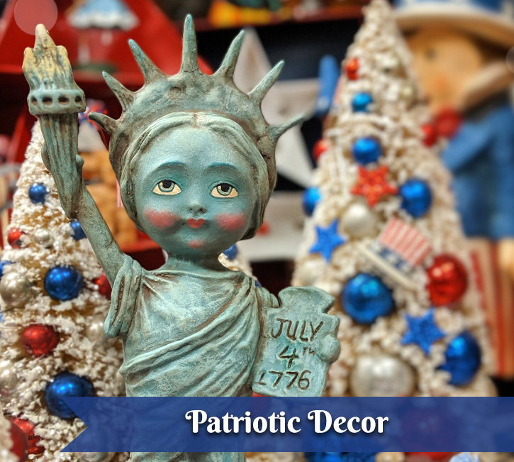 Patriotic Decor & Ornaments