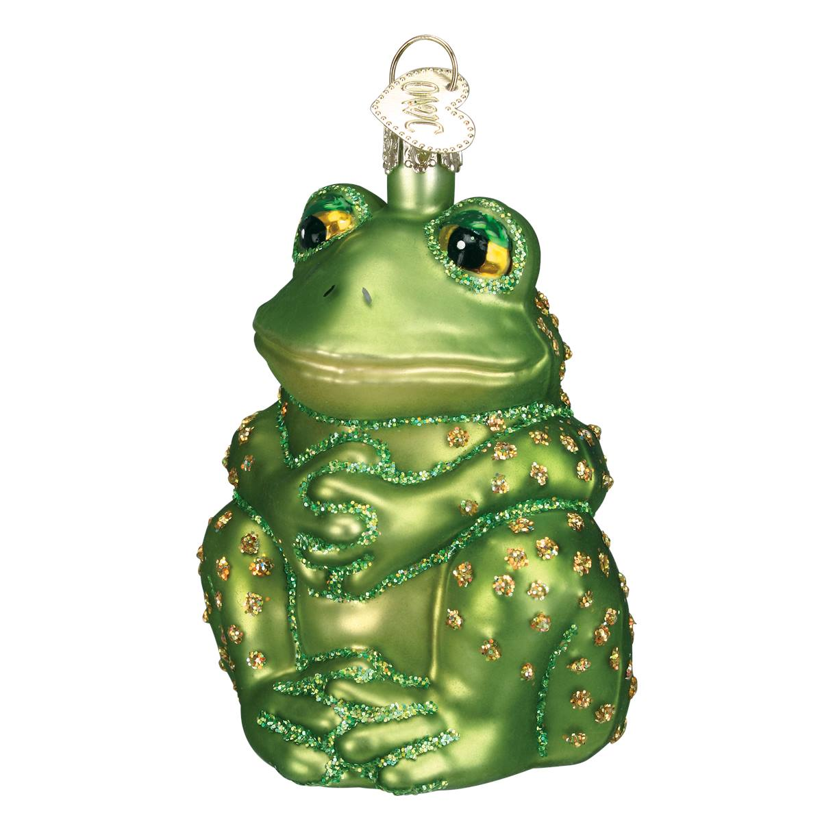 Sitting Frog Ornament Traditions