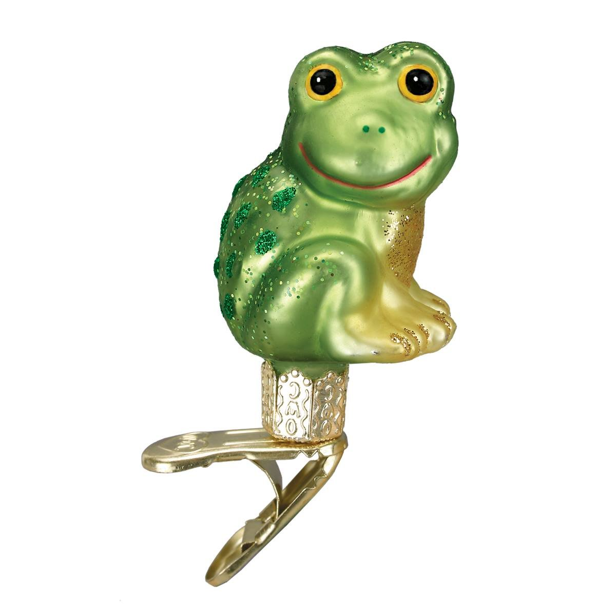 Happy Frog Ornament