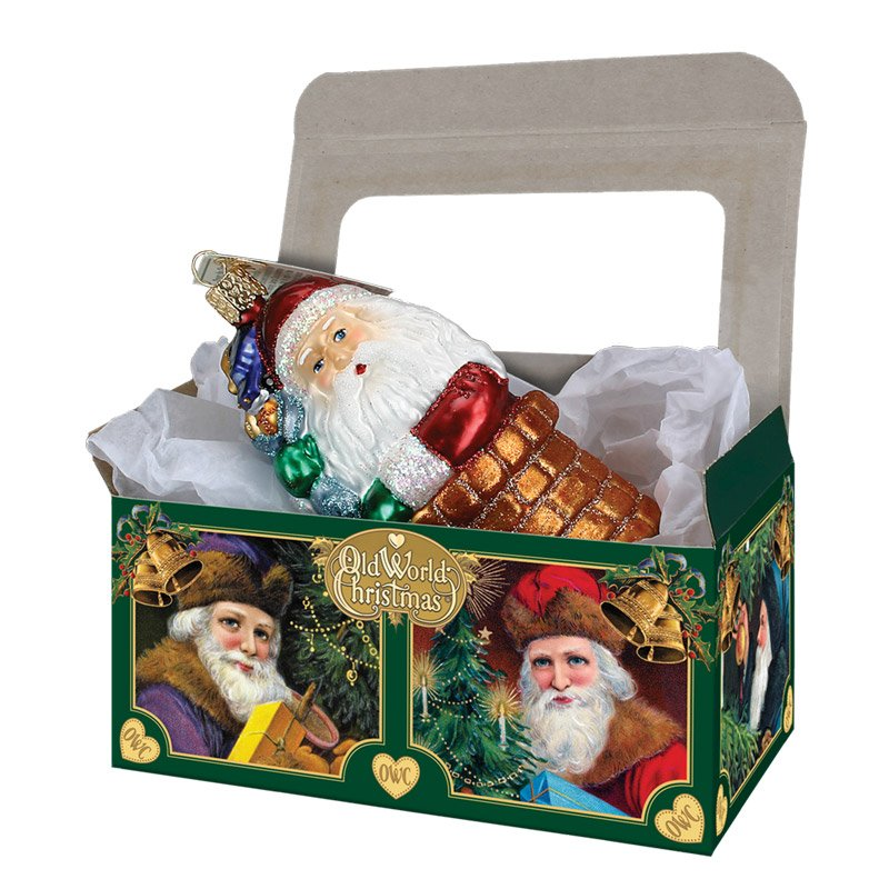 Large ornament gift box by old world christmas traditions