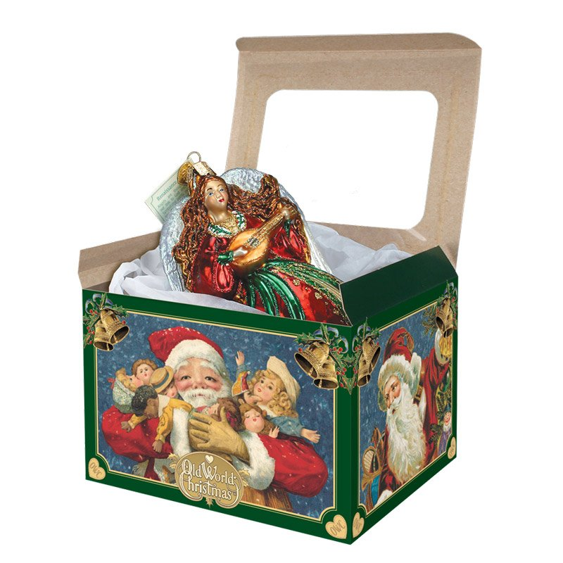 Extra large gift box ornament traditions