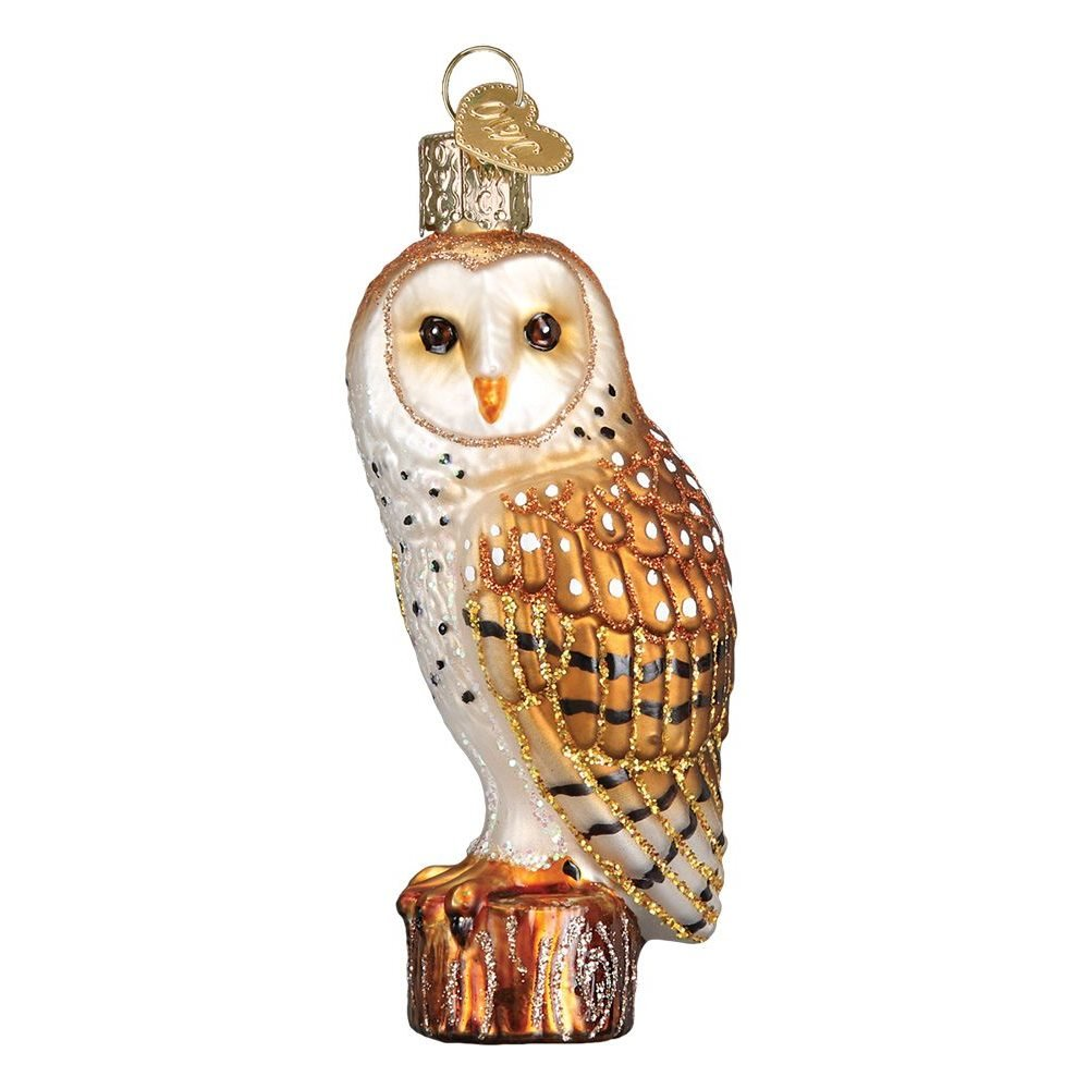 Barn Owl Hanging Ornament By Old World Christmas Traditions