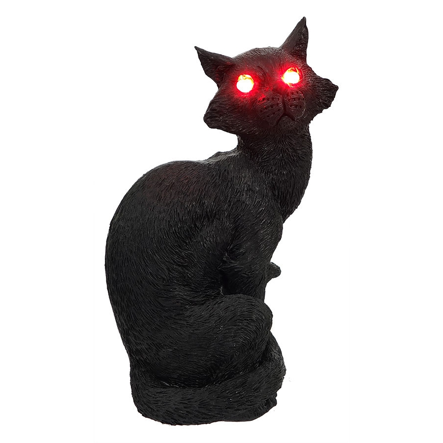 Lighted pumpkins outdoor decor traditions for Cat outdoor christmas decorations