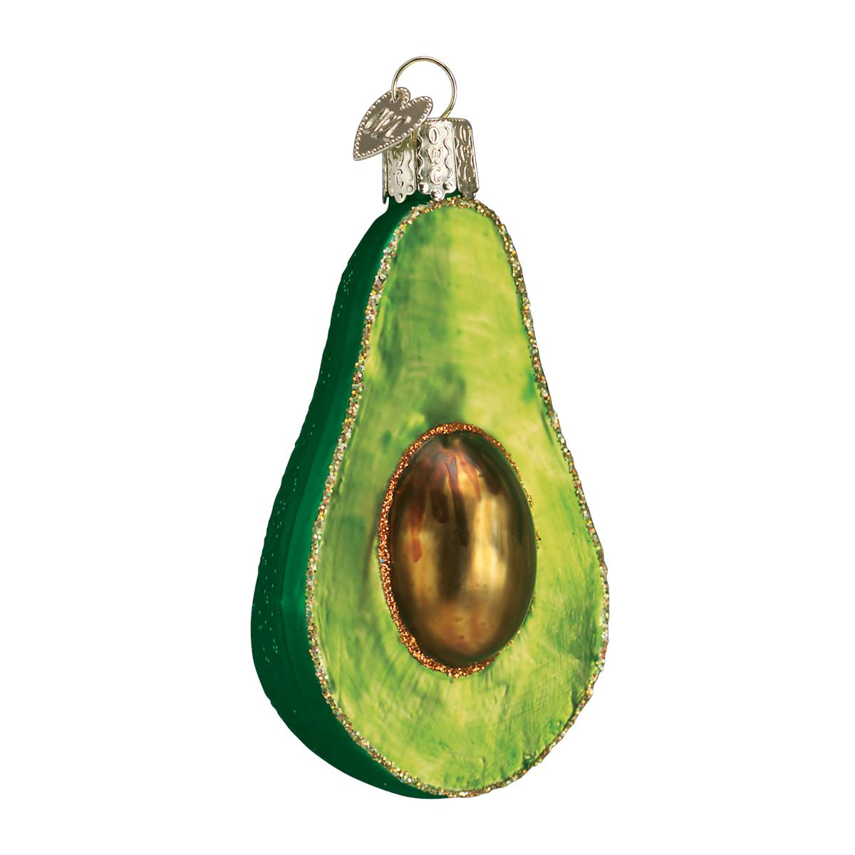 Margarita ornament - Avocado Ornament