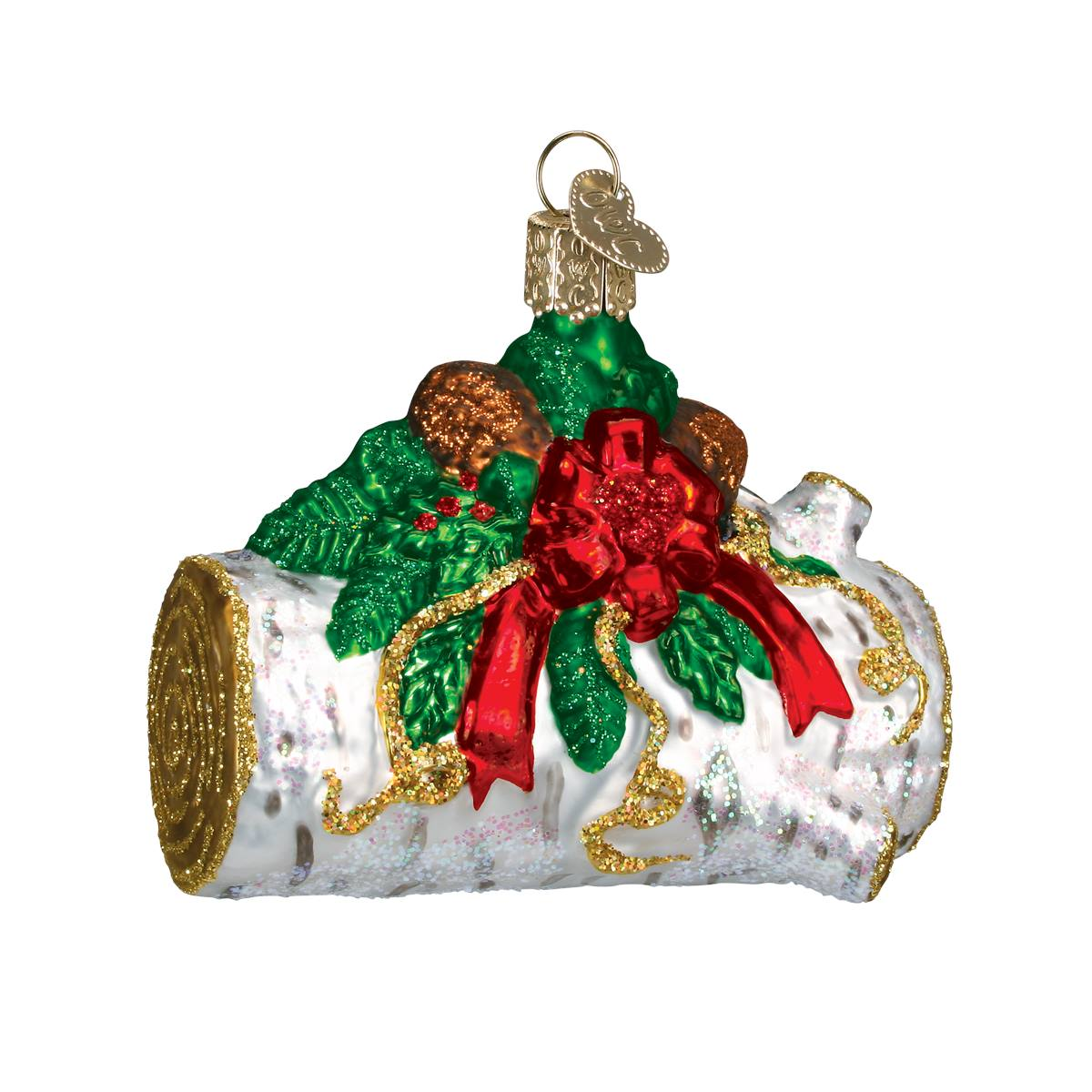 Yule Log Ornament