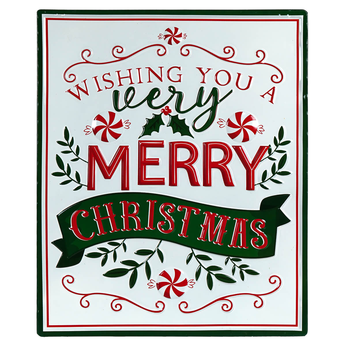Wishing You A Very Merry Christmas Wall Art Traditions