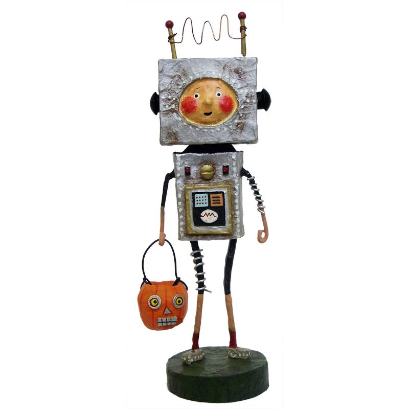 Robby robot by lori mitchell traditions for Robotic halloween decorations