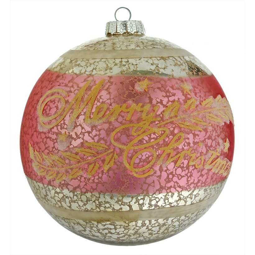 Merry Christmas Ornaments: Traditional Vintage Christmas Ornaments