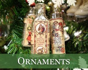 theres more ornaments - Nostalgic Christmas Decorations