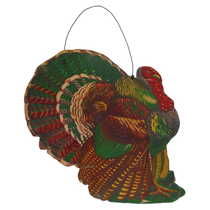 vintage turkey image hanger by seasons gone by traditions