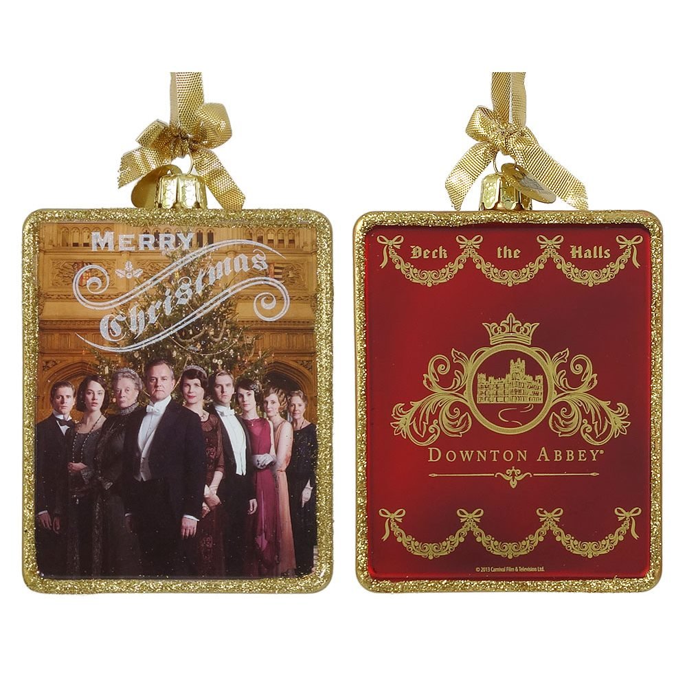 Merry Christmas Downton Abbey Cast Ornament by Kurt Adler | Traditions