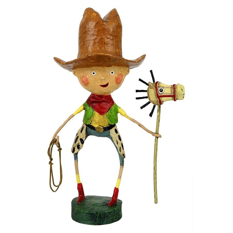 ESC Getty Up Lil Cowgirl by Lori Mitchell