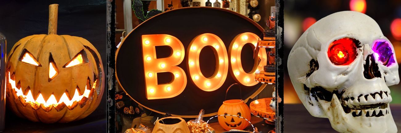 Lighted pumpkins outdoor decor traditions halloween lighted pumpkins tabletop decor workwithnaturefo