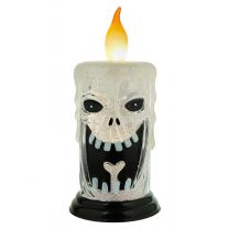 LED Skeleton Halloween Candle