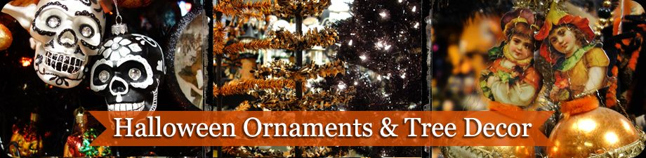 Halloween Ornaments & Trees