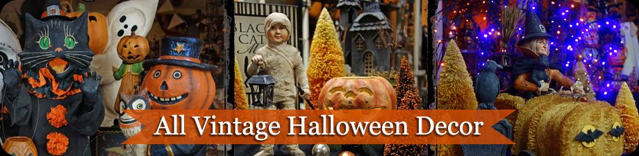 Vintage Halloween Decor