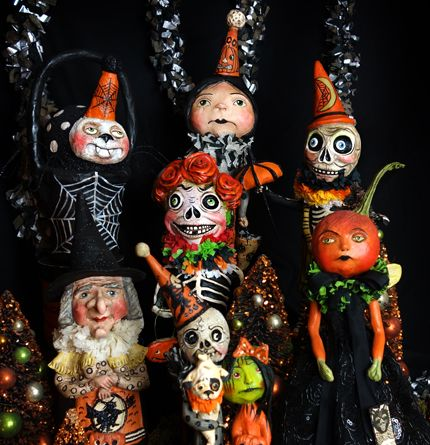 halloween folk artists - Halloween Holiday