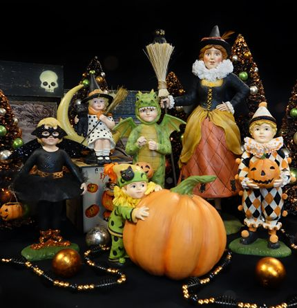 halloween trick or treat children figures - The Tradition Of Halloween